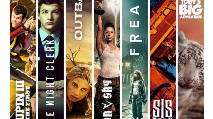 Film-film yang diputar Klik Film diantara ratusan judul film lainnya.