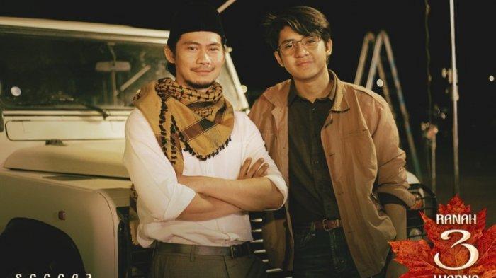 Arbani Yasiz, pemeran Alif Fikri, ketika berakting bersama Donny Alamsyah di film Ranah 3 Warna garapan sutradara Guntur Soeharjanto. Film Ranah 3 Warna akan segera ditayangkan.