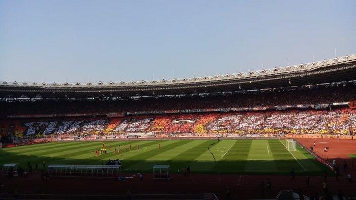 VIDEO: Persija VS PSM, The Jakmania dan the Macz Man Adu Chants di Final Piala Indonesia