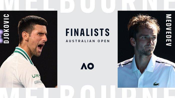 Daniil Medvedev Tantang Petenis Nomor 1 Dunia Novak Djokovic di Final Australia Open