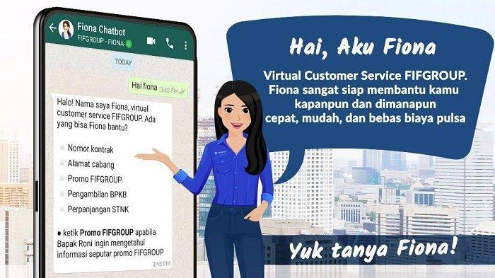 Perkuat Layanan Pelanggan, FIFGROUP Luncurkan Fiona Sebagai Channel Digital Baru