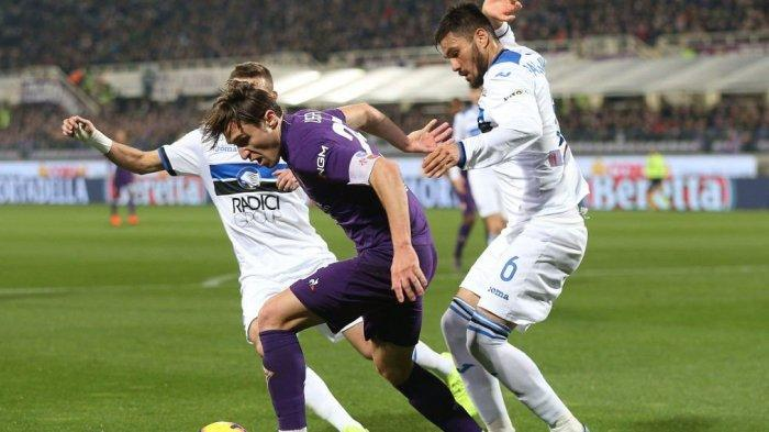 Fiorentina Tahan Atalanta 3-3 di Piala Coppa Italia, Federico Chiesa Sang Penyelamat