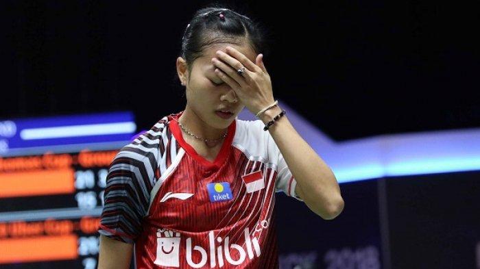 Fitriani Kalah, Indonesia Tertinggal 0-1 dari Thailand