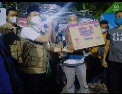 FKDM Jakarta Barat bersama Ranger 22 Bantu Korban Kebakaran di Kelurahan Keagungan