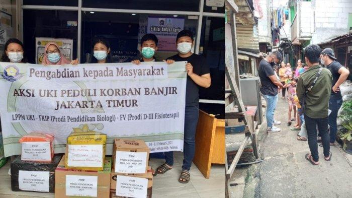 Kegiatan PkM Prodi Pendidikan Biologi FKIP UKI di Kampung Melayu Jakarta Timur.