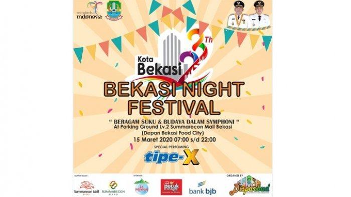 Dihantui Wabah Virus Corona, Bekasi Night Festival Nekat Jalan Terus, Ini Alasannya