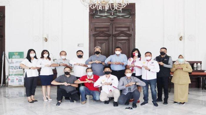 FMP 2021 Kibarkan Bendera Merah Putih di Tugu Kujang Kota Bogor dan Tempat Ibadah Secara Serentak