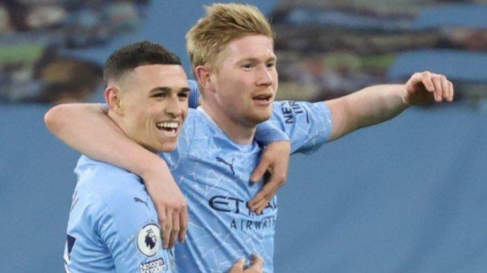 Prediksi Line Up dan Live Streaming Manchester City vs PSG, Turunkan Lagi De Bruyne, Mahrez, Foden