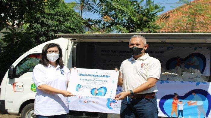 FOI dan Centratama Grup Distribusikan Bantuan Pangan Bagi Warga Terdampak Pandemi Covid-19