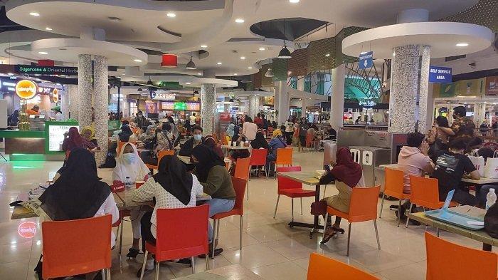 Food Court dan Restoran Mal Kelapa Gading Ditegur Gara-gara Pengunjung Tidak Menjaga Jarak