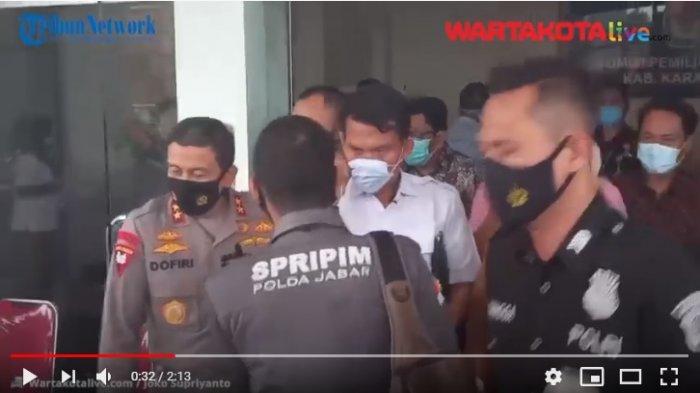 VIDEO Jelang Pilkada, Forkopimda Jabar Datangi Kantor KPU Kabupaten Karawang