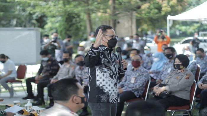 Forkopimda Kota Bogor menggelar simulasi PPKM Mikro