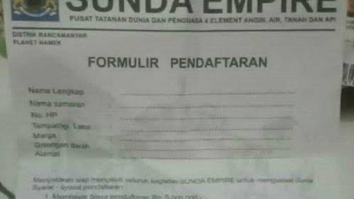 Trending Topik: Kecewa Pengesahan RUU Omnibus Law, Warganet Ramai-ramai Ingin Gabung Sunda Empire