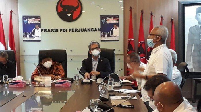 Bertemu Fraksi PDIP, Forum Pensiunan BUMN Jiwasraya Minta Restrukturisasi Polis Jiwasraya Diundur