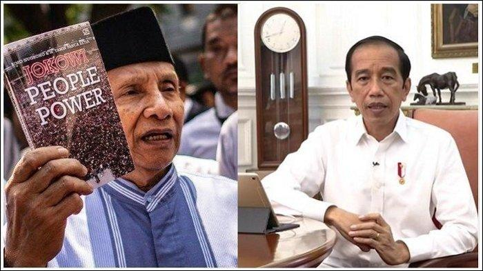 Kasus 6 Laksar FPI Tewas Ditembak, Amien Rais Singgung Neraka Jahanam, Begini Reaksi Presiden Jokowi
