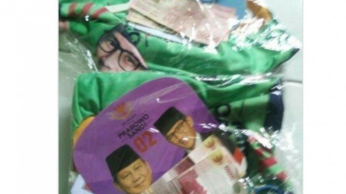 Foto Viral, Bungkusan Bergambar Prabowo-Sandi Berisi Uang Rp 200.000, BPN: Tak Ada Uang!