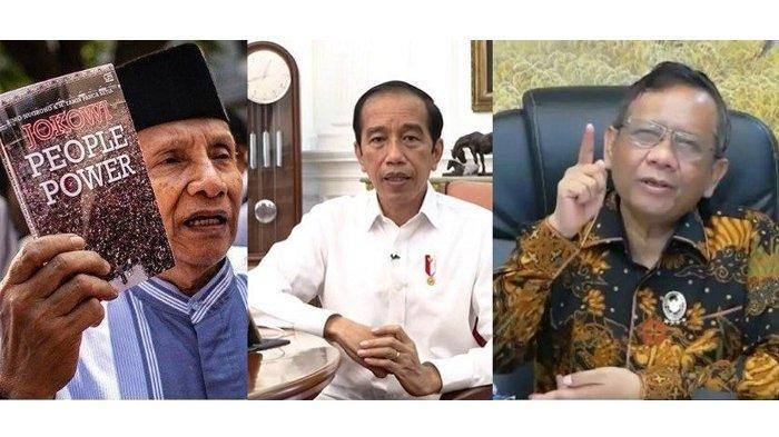 Rombongan TP3 Enam Laskar Pembela Rizieq Shihab Pimpinan Amies Rais Temui Jokowi, Ini Kata Mahfud MD