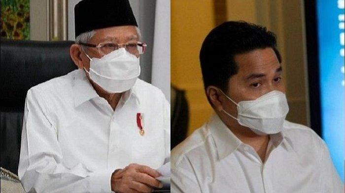 Tanggapan Mantan Aktivis 98 Soal Penolakan Gelar Doktor Honoris Causa Maruf Amin dan Erick Thohir