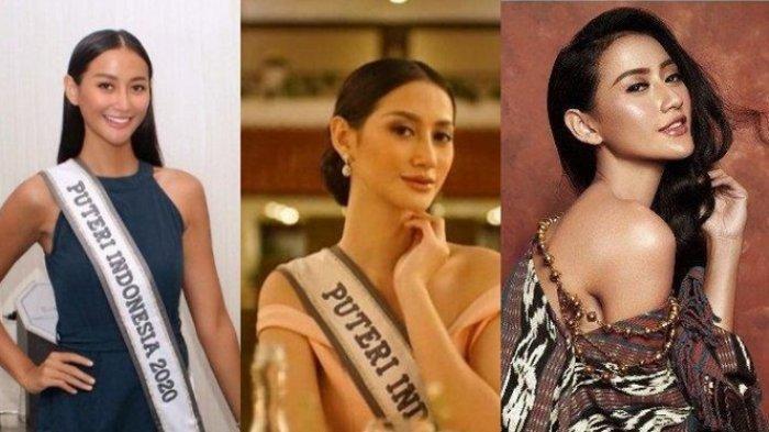 Foto-foto Putri Indonesia Raden Roro Ayu Maulida Putri Pakai Bikini dan Gaun Malam di Miss Universe