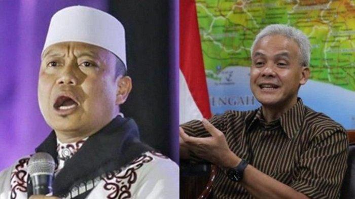 Video Full Ceramah Ustaz Dasad Latif Meledek Ganjar Pranowo Dibully di Medsos: Security Aja Dibully!