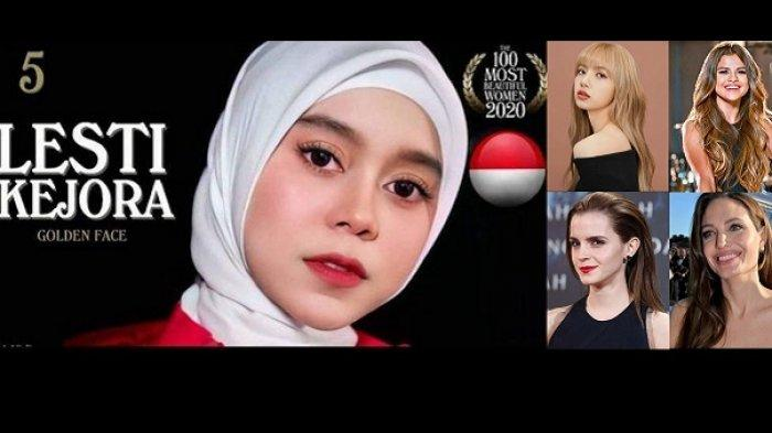 Lesti Kejora, Lisa BLACKPINK, Emma Watson, Selena Gomez, Angelina Jolie.