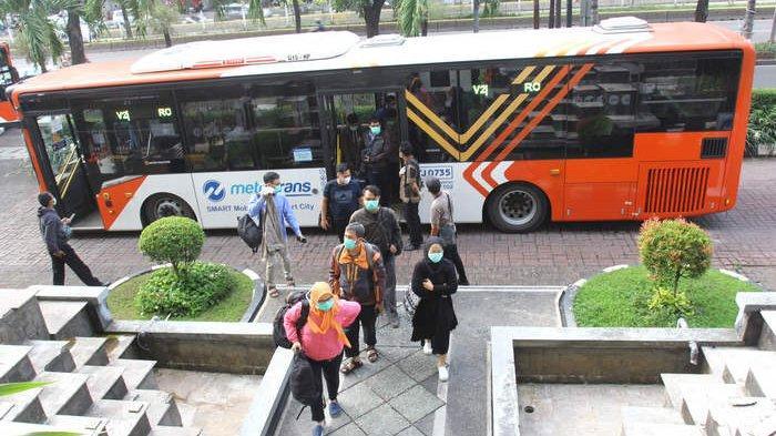Kembali Lakukan Pembatasan Layanan, Ini Rute Transjakarta yang Beroperasi