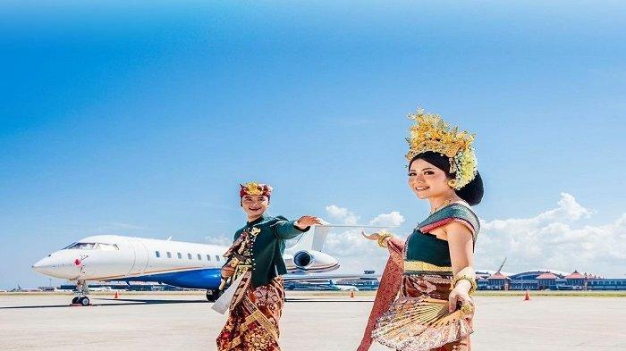 ASYIK! Sekarang Warga Boleh Prewedding di Bandara I Gusti Ngurah Rai Bali Lho, Begini Caranya