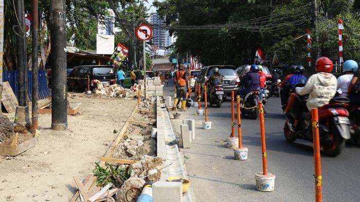 Tiru Surabaya, Jalan Cikini Raya akan Ditanami Pohon Pelindung Tabebuya