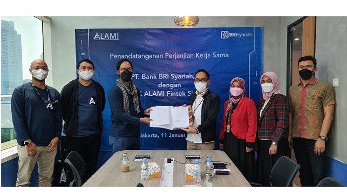 Kolaborasi Fintech ALAMI dan BRISyariah Targetkan Pembiayaan Syariah Rp 40 Miliar