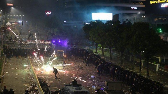 Satu dari Enam Tersangka Baru Sempat Berbaur dengan Massa Aksi 22 Mei Sambil Kantongi Revolver