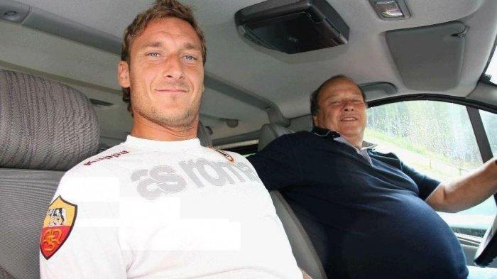 Legenda AS Roma Francesco Totti Tulis Surat untuk Mendiang Ayah