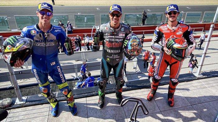 Franco Morbidelli meraih podium satu di balapan San Marino 2020