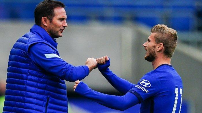 Pelatih Chelsea Frank Lampard Senang Timo Werner Cepat Beradaptasi di Timnya