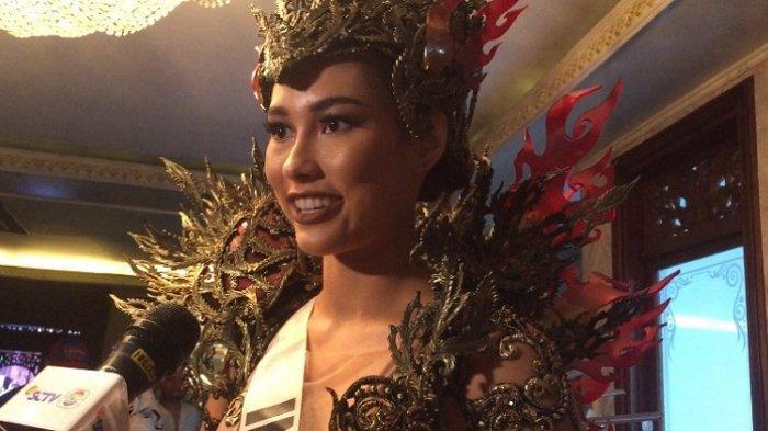 Perasaan Frederika Alexis Cull saat Kenakan Kostum Nasional untuk Ajang Miss Universe 2019
