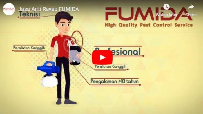 FUMIDA, Jasa Anti Rayap Profesional Nomor Satu, Berikut Jenis Pelayanan Hingga Harga Jasanya