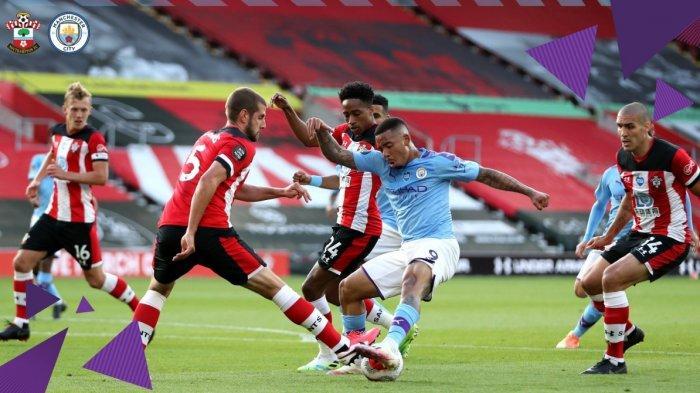 Hasil dan Klasemen Liga Inggris, Pemain Manchester City Frustasi, Keok 1-0 di Tangan Southampton