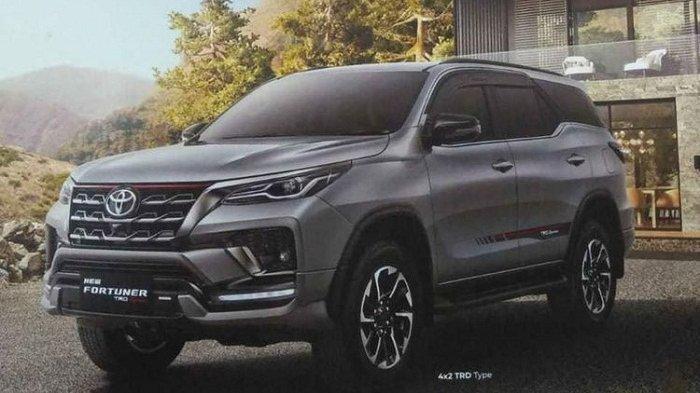 Gambar brosur Toyota Fortuner facelift (Toyota Fortuner 2020)