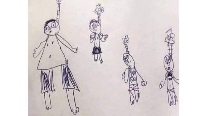 Gambar Murid ini Jadi Viral Lantaran Sang Guru Mengira Depresi, Penjelasannya Bikin Ngakak