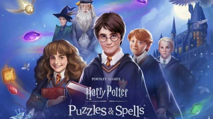 Game mobile Harry Potter.