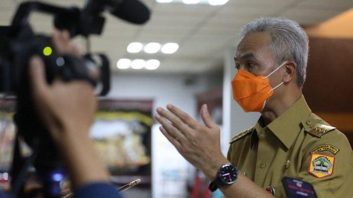 Ganjar Sebut Vaksinasi Kedua di Jateng Tertinggi se-Indonesia