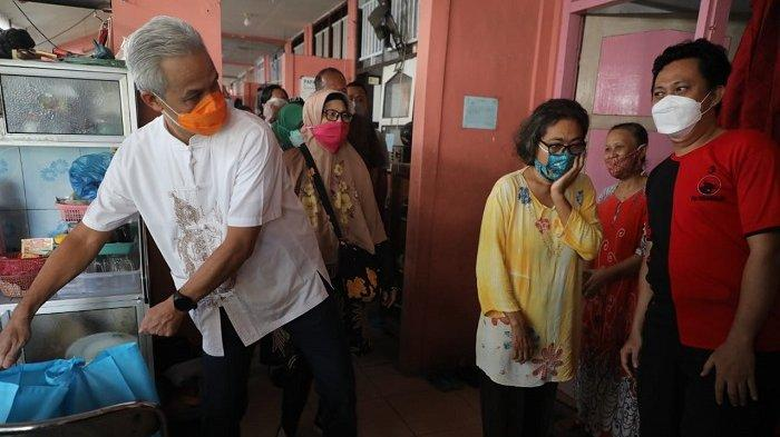 Gubernur Jateng Ganjar Pranowo Datangi Rusun Buruh, Penghuni: Sudah Lama Pengin Ketemu
