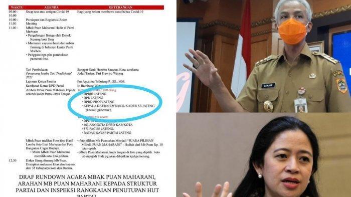 Beredar surat Ganjar Pranowo sengaja tak diundang PDIP dalam acara DPPP PDIP yang digelar di Semarang. Apasannya Gubernur Ganjar terlalu maju terkait pencapresan 2024. Ganjar sendiri tengah berada di Jakarta. Apakah itu akan menjadi babak baru pencapresan Ganjar?