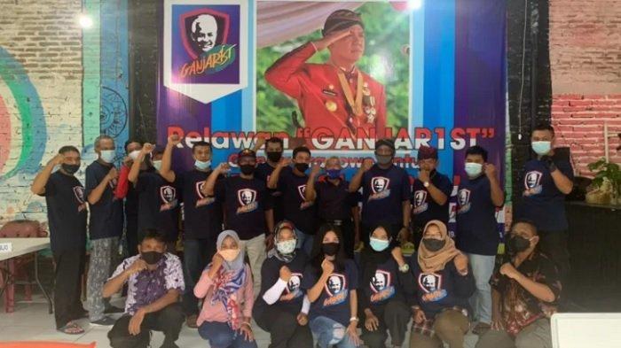 DEKLARASI Serentak Ganjarist, Relawan Pendukung Ganjar Pranowo Meluas hingga 14 Daerah