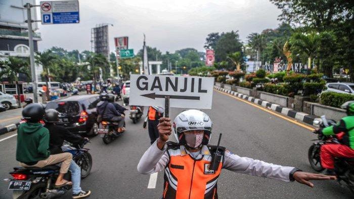 Kurangi mobilitas warga, Pemkot Bogor kembali terapkan Ganjil-genap pada Sabtu dan Minggu selama dua jam (15.30-17.30 WIB).