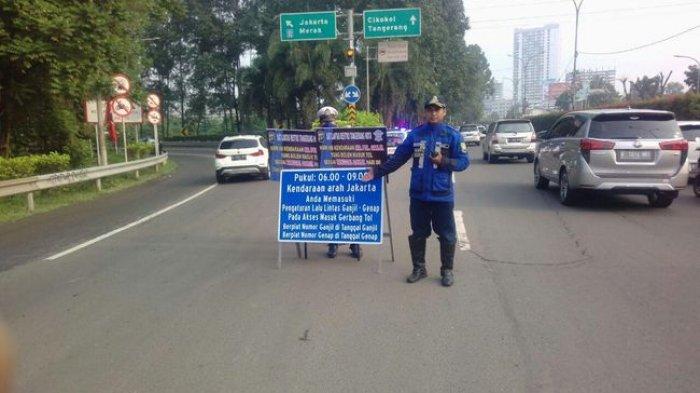 Uji Coba Ganjil Genap di Tangerang dan Cibubur Diperpanjang