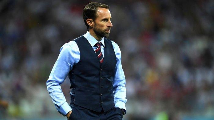 Gareth Southgate Ingin Dapat Kepastian Inggris Lolos ke Final Euro 2020 di Praha - Warta Kota
