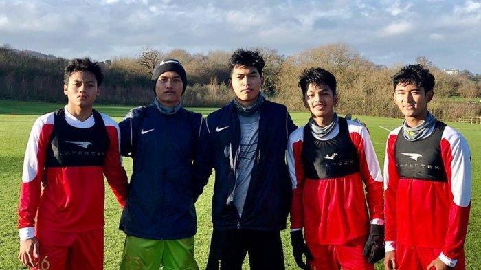 Selain Rajin Berlatih di Inggris, Para Pemain Garuda Select III Juga Bersiap Hadapi Ujian Nasional