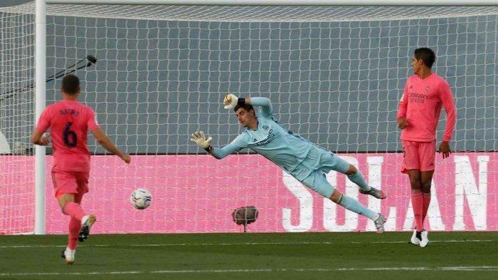 Thibaut Courtois Menyebut Kekalahan Real Madrid dari Cadiz sebagai Tanda Baik