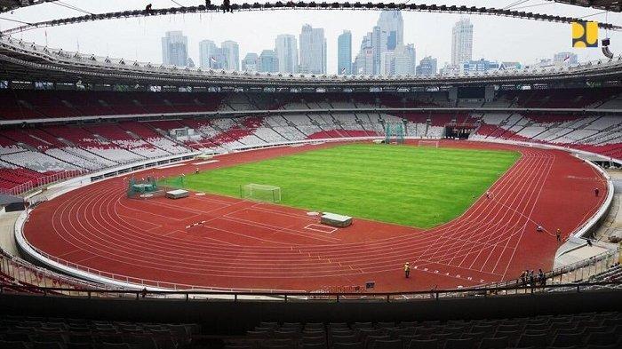 Stadion Sepak Bola Gelora Bung Karno Senayan, Jakarta.