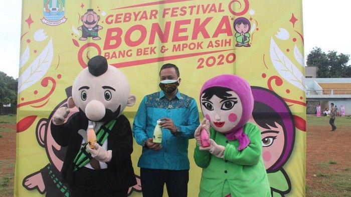 Gebyar Festival Boneka Maskot Kota Bekasi Bang Bek dan Mpok Asih Digelar dengan Protokol Kesehatan
